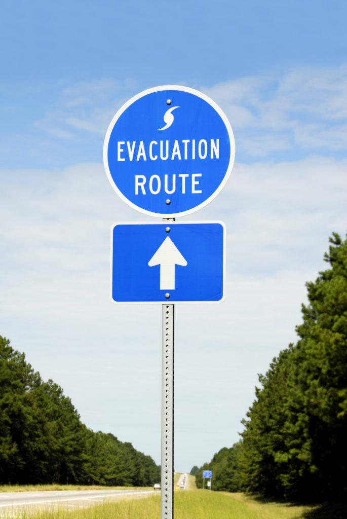 emergency preparedness tips, evacuation routes