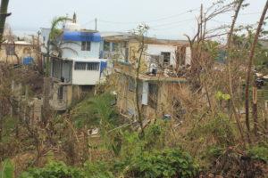 Hurricane Maria destroys Puerto Rican village