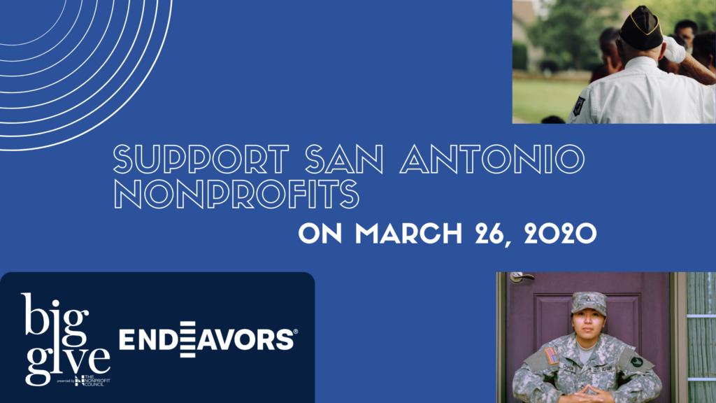 The Big Give drive benefitting San Antonio non-profits