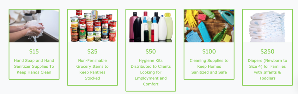 help provide supplies for ppl in need during COVID19 crisis
