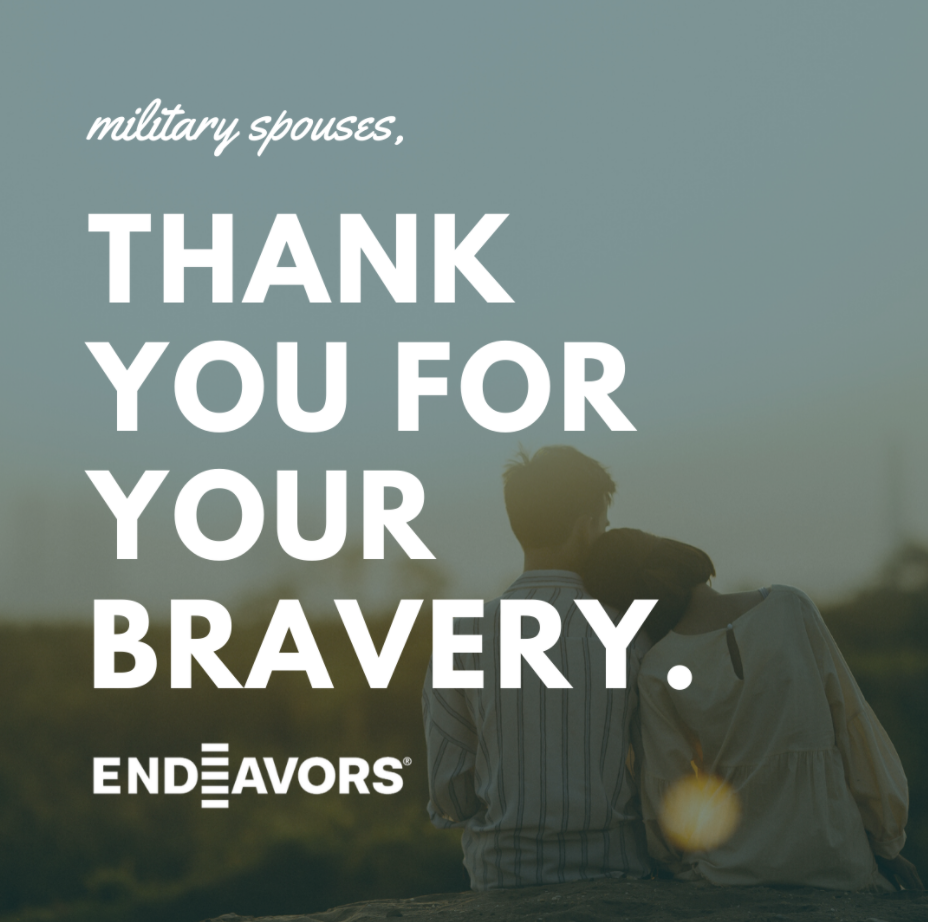 Military Spouse Appreciation Graphic