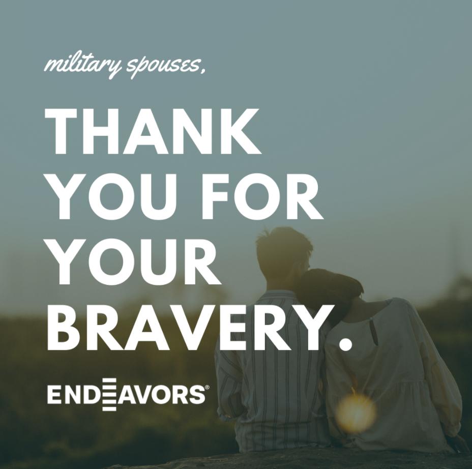 Military Spouse Appreciation Graphic