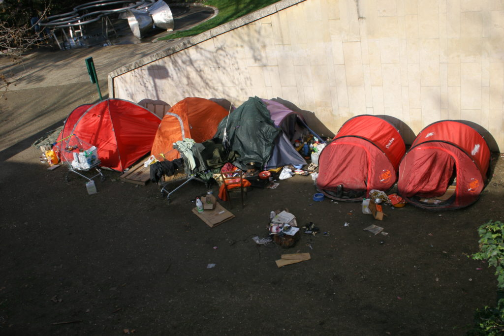 tent neighborhood for homeless
